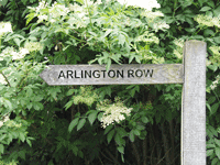 Arlington Row Sign