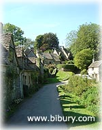 A view of Arlington Row in Bibury