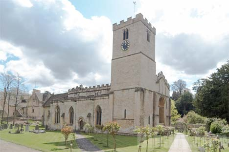 Church of St Mary in Bibury